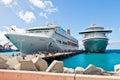 Philipsburg St. Maarten Royaltyfria Foton