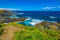 Phillip island south coast panoramic view of coastal area victoria australia Stock Photos