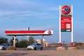 Phillips gas station inyokern united states april brand in inyokern california is owned by large oil company number on fortune Stock Image