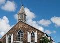 Phillipsburg, St. Maarten's Methodist Church on Front Street Royalty Free Stock Photo
