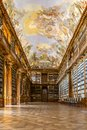 Philosophical Hall Strahov Library Prague Royalty Free Stock Photo