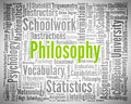 Philosophy Word Means Wisdom. Philosophies And Ethics