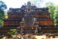 Phimeanakas&The Royal Palace,Angkor Royalty Free Stock Image