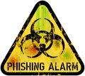 Phishing alert sign