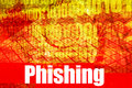 Phishing Hot Online Web Securi Royalty Free Stock Photo