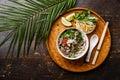 Pho Bo vietnamese Soup Royalty Free Stock Photo