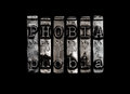 Phobia concept fear Stock Image