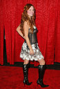 Phoebe price at the red party to benefit the life through art foundation hosted by the cast of simple rules shrine auditorium los Stock Photo