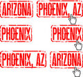 Phoenix, Arizona Stock Photo