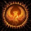 Phoenix Royalty Free Stock Photo