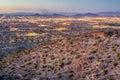 Phoenix Cityscape after Sunset