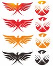 Phoenix logo Royalty Free Stock Photo