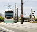 Phoenix Metro Light Rail Train Royalty Free Stock Photo