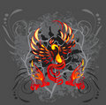 Phoenix vector illustration Stock Images