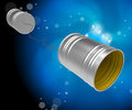 Phone Call Cans Represents Communicate Discussion And Telephone Royalty Free Stock Photo