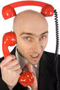 Phone calls Stock Photography