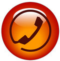 Phone connection icon Royalty Free Stock Photo