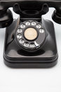 Phone retro made of bakelite Stock Photos