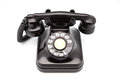 Phone retro made of bakelite Royalty Free Stock Photos