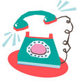 Phone ringing Royalty Free Stock Photography
