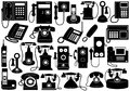Phone Set Stock Image
