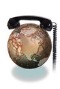 Phone the World. Royalty Free Stock Photo