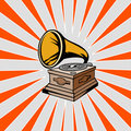 Phonograph Royalty Free Stock Photos
