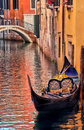 Photo agondola venice italy Royalty Free Stock Images