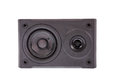Photo of black audio speaker, Royalty Free Stock Photo