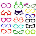 Photo booth props glasses masks
