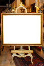 Photo easel Royalty Free Stock Photo