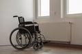 Photo of empty wheelchair Royalty Free Stock Photo