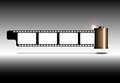 Photo film strip Royalty Free Stock Photos