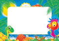 "Photo-frame ""Summer"" Royalty Free Stock Photo"