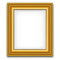 Photo frame blank picture decoration element template Stock Photography