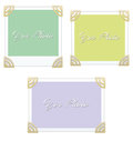 Photo frame clipart illustration design Royalty Free Stock Photos