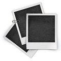 Photo frame isolated on white background Stock Photography