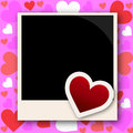 Photo frame with love