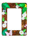 Photo frame made from polymer clay handmade crafted