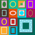 Photo frame vector isolated