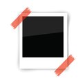 Photo frames colorful illustration with for your design Stock Image