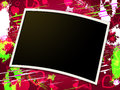 Photo frames shows blank space and copy space meaning empty Stock Photos