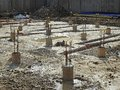 New build construction site Royalty Free Stock Photo