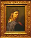 Photo of the original painting `Portrait of Bindo Altoviti by Raffael Royalty Free Stock Photo