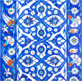 Photo original turkish tiles rustempasa mosque istanbul turkey Royalty Free Stock Photography