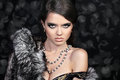 Photo of sexual beautiful girl is in fashion style Royalty Free Stock Photo