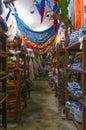 Photo of a souvenir store in paraty rio de janeiro brazil Royalty Free Stock Photography