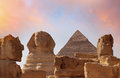 Photo of the Sphinx in Egypt Royalty Free Stock Photo