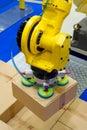 Photo of a storage robot Stock Photo