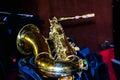 Photo tenor sax Royalty Free Stock Photo